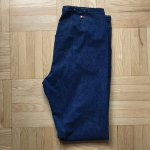 Hilfiger High wasted Jeans size 14 bell bottoms